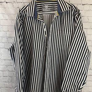 Bugatchi striped classic fit shirt